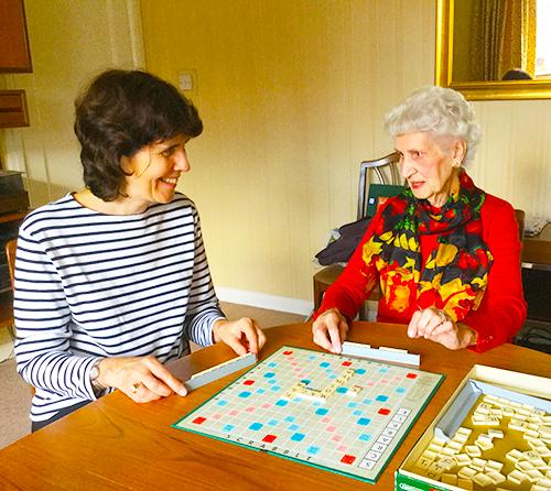 Scrabble days